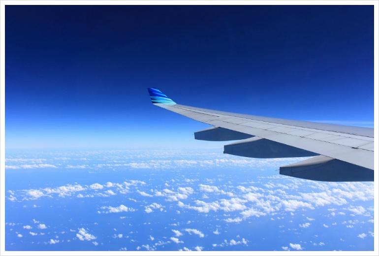 카카오톡 항공권 예약
